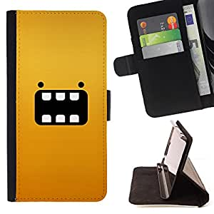 Jordan Colourful Shop - cartoon yellow animal character For Apple Iphone 6 - Leather Case Absorci???¡¯???€????€?????????&