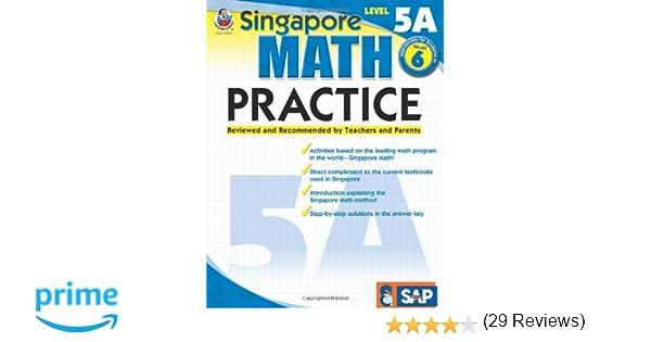 Singapore Math Practice, Level 5A, Grade 6: Frank Schaffer ...