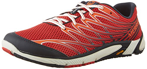 Running Red Access Blue 4 Men's Merrell Bare Shoe Trail BwP8Pq