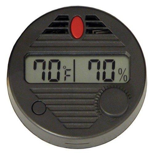 Generic Round Digital Hygrometer Humidors
