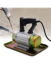 YJINGRUI Concrete Vibrator 110V 250W Hand-held Concrete Cement Vibrating Machine Domestic Flat Plate Trowel 2840 VPM