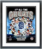 "Detroit Tigers All Time Greats Photo 12.5"" x 15.5"" Framed"
