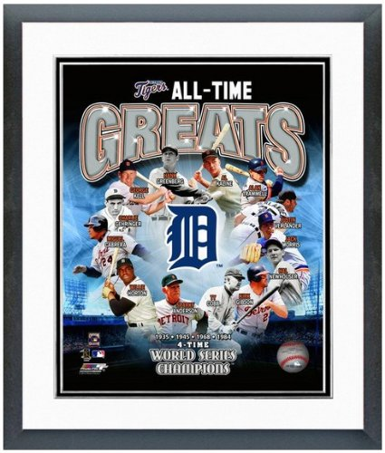 Detroit Tigers All Time Greats Photo 12.5