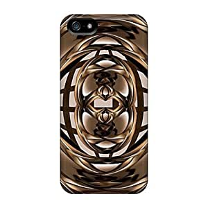 New GraceFavor Super Strong Brown 2 PC For SamSung Galaxy S4 Mini Phone Case Cover