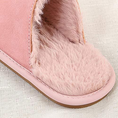 En Garder Kaki dérapant Résistant Chaussures De Word Coton Noir 5cm Doigts Pantoufles Anti Au Sans L'usure À Fond Chaud Mode Yangyongli Innerlength19 Un BE6gcn