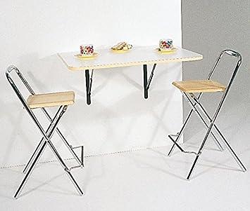 Ideas de mesitas, mesas, consolas transformables, abatibles de pared ...