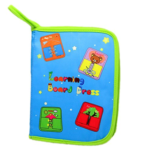 Yoovi Montessori Learn to Dress Boards Toys Busy Toys Quiet