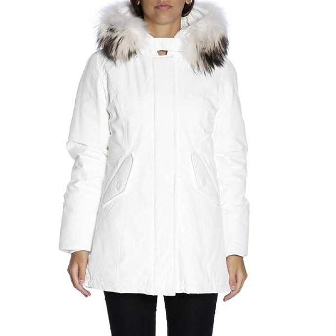 c53651b428 Parka New Chamois Bianco Freedomday - Giaccone da Donna-XS: Amazon ...