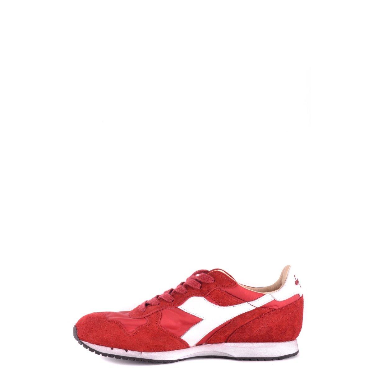 Diadora Uomo 157083 C6673 Sneakers Rosso-Bianco Camoscio-Nylon Spring-Summer 2017 UubvBD