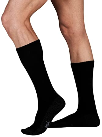 e01aa21b2 Image Unavailable. Image not available for. Color  Juzo Silver Sole Socks  ...
