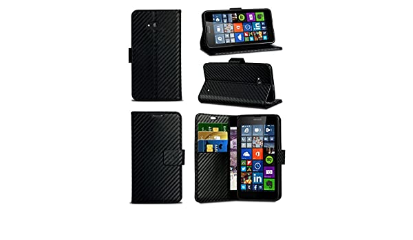 Amazon.com: MobiBax For Vodafone Smart Turbo 7 / Vfd 500 - Black Textured Effect Professional Style Luxury Wallet Flip Skin Case Cover With Card Pockets: ...