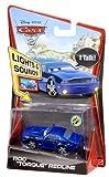 Mattel Cars 2 1:55 Lights And Sounds Rod Torque Redline Vehicle