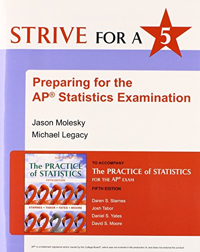 Download Strive for 5: Preparing for the AP Statistics Examination
