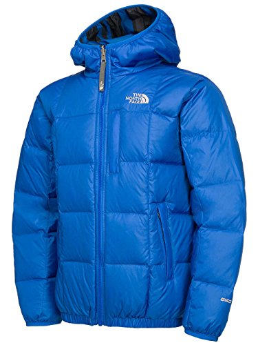 The North Face Reversible Moondoggy Jacket Boy's Nautical Blue XS (6) by The North Face
