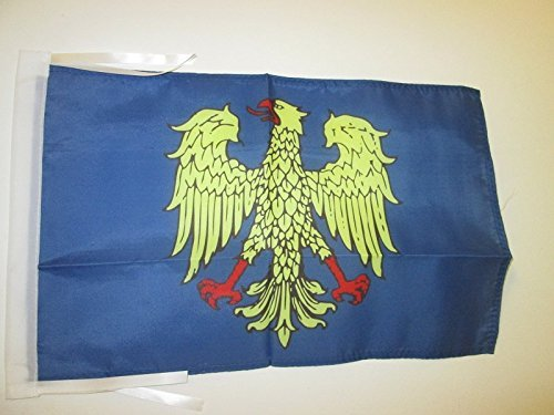 FRIULI-VENEZIA GIULIA FLAG 18'' x 12'' cords - ITALY - ITALIAN REGION SMALL FLAGS 30 x 45cm - BANNER 18x12 in - AZ FLAG by AZ FLAG by AZ FLAG