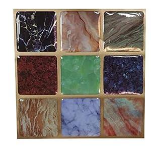 Amazon Com Wootile 4x4 Inch Self Adhesive Kitchen
