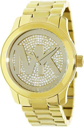 Michael Kors Women's Runway Gold-Tone Watch - Price Usa In Kors Michael