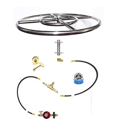 Amazon Com Fr18itck 18in Fire Ring In Table Diy Do It Yourself