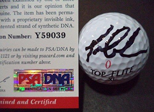 Tom Lehman Memorabilia - TOM LEHMAN 5 TIME TOUR WINNER AUTOGRAPH SIGNED TOP FLITE GOLF BALL PSA/DNA COA