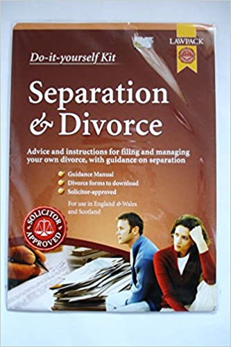 Divorce separation do it yourself kit advice and divorce separation do it yourself kit advice and instructions for filing and managing your own divorce with guidance on separation amazon solutioingenieria Gallery