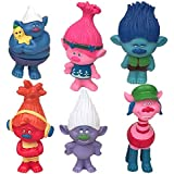 Trolls toy ornaments suit 6 in 1