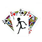 Universe And Alien Running Alien Poker Playing Card Tabletop Board Game Gift