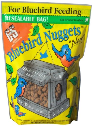 C and S Products Bluebird Nuggets, 6-Piece, My Pet Supplies
