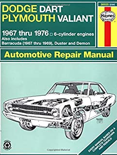 h30025 haynes dodge plymouth dart demon valiant duster barracuda rh amazon com 2013 dodge dart service manual pdf 1969 dodge dart service manual