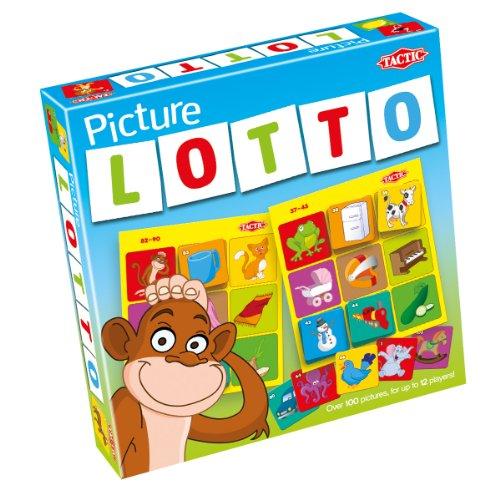 Picture Lotto Game - Lotto Board Game