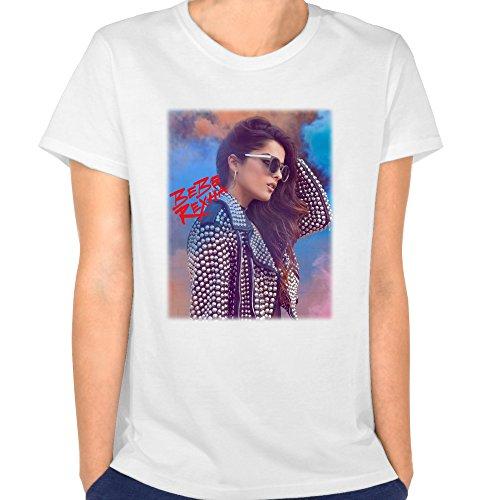 NBS Women's Bebe Rexha No Broken Hearts Nicki Minaj White L T Shirt