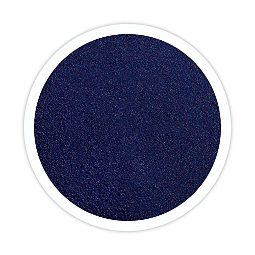 Sandsational Blue Velvet Unity Sand~1.5oz (22oz), Navy Blue Colored Sand for Weddings, Vase Filler, Home Décor, Craft Sand]()