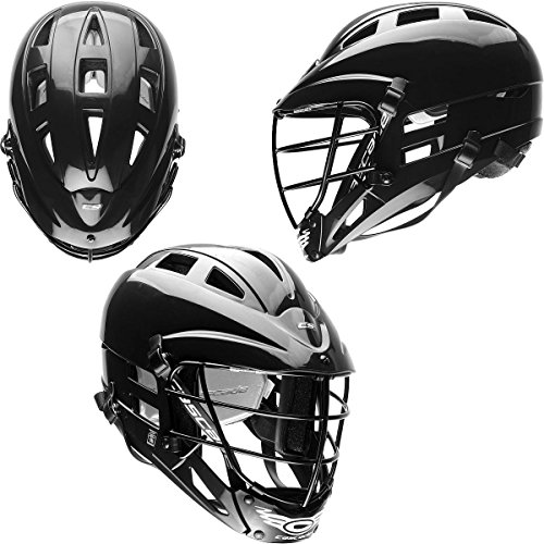 CASCADE CS JUNIOR LACROSSE HELMET BLACK ADJUSTABLE