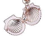 KINJOHI Fashion Sea Shell Pendant Necklace Openable Creative Sweet Beach Necklace Women Jewelry