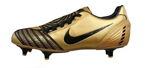 huge selection of 3a9f8 f7167 Image Unavailable. Image not available for. Colour  Nike Total 90 Shoot II  SG Mens soccer Boots   Cleats - Gold ...