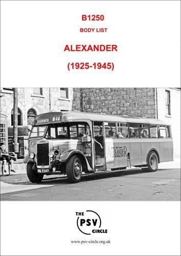 Body List - Alexander (1925-1945): B1250