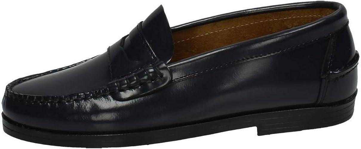 MADE IN SPAIN 210 Castellanos DE Piel NI/ÑO Zapatos MOCAS/ÍN
