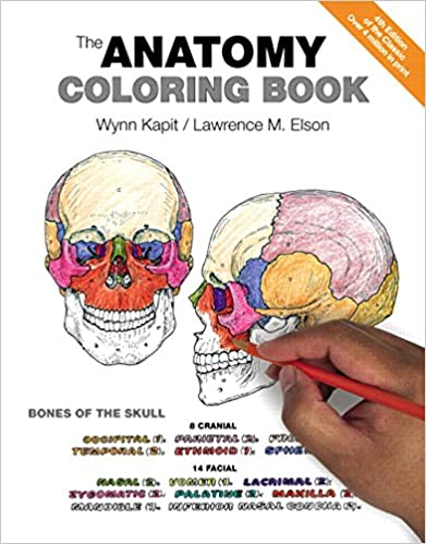 Anatomy Coloring Book, The 4, Wynn Kapit, Lawrence M. Elson ...