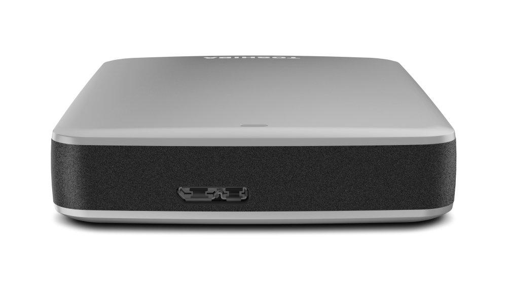 (Old Model) Toshiba Canvio Connect 2TB Portable Hard Drive, Silver (HDTC720XS3C1)