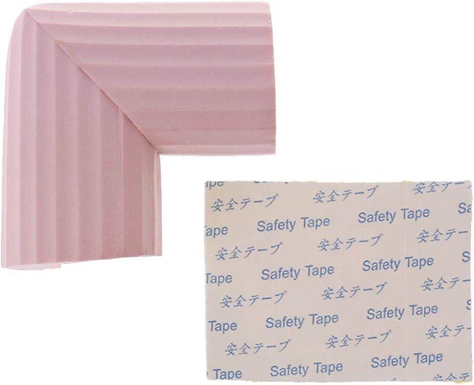 Manyo Protection Coin de B/éb/é pour Table Canap/é Cabinet Meubles Doux Anti-collision Protection de Bord pour Enfant B/éb/é lAncien 4.5x4.5cm 1.77x1.77in beige