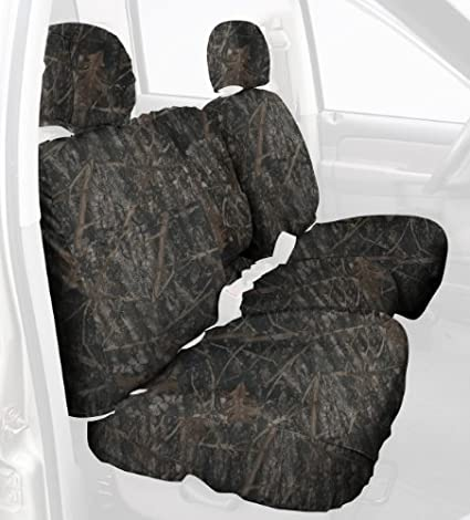Flooded Timber SS2372TTFT Polyester Fabric Covercraft Custom-Fit Front Bucket SeatSaver Seat Covers