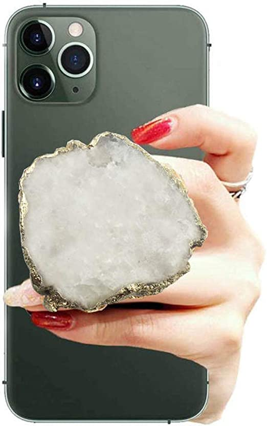Resin Stone /& Crystal Phone GripStand