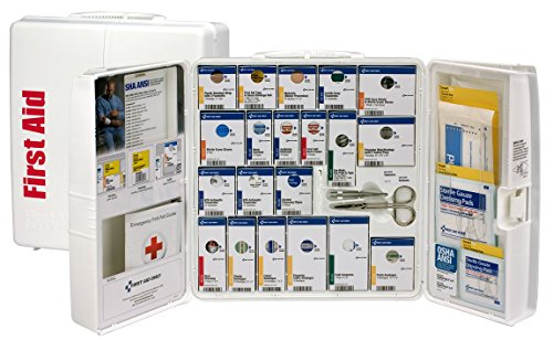 First Aid Only 90580 Plastic SmartCompliance First Aid Cabinet without Medications, Large from First Aid Only