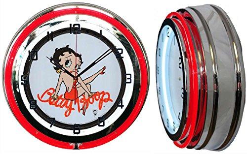 Betty Boop Neon Clock - Checkingtime LLC 19