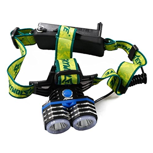 TOPITEMS-6000LM-2X-XM-L-T6-LED-Rechargeable-18650-USB-Headlamp-Headlight-Head-Light-Torch