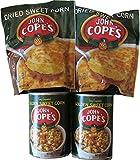 Pennsylvania Dutch John Cope's Dried Sweet Corn 2 Bags & 2 Cans Golden Sweet Corn