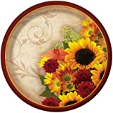 Creative Converting 8 Count Floral Inspiration Paper Dessert Plates