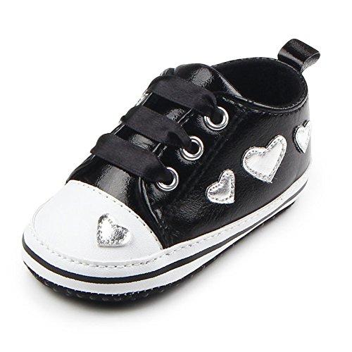 leap frog  Sneakers,  Baby Mädchen Lauflernschuhe Sneakers Schwarz
