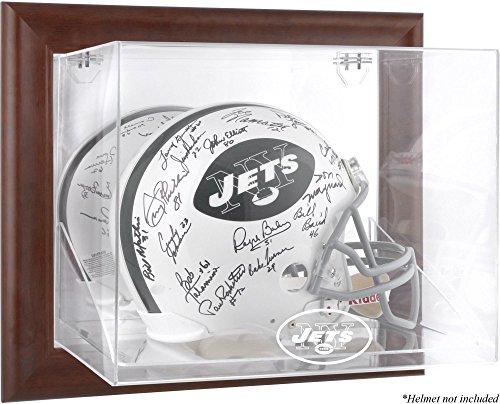 Mounted Memories New York Jets Brown Helmet Display Case - New York Jets One Size by Mounted Memories