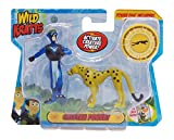 Wild Kratts Toys - 2 Pack Creature Power Action Figure Set - Cheetah Power