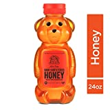 no bake cheese c - Nature Nate's 100% Pure Raw & Unfiltered Honey; 24-oz. Bear Squeeze Bottle; Certified Gluten Free and OU Kosher Certified; Enjoy Honey's Balanced Flavors, Wholesome Benefits and Sweet Natural Goodness